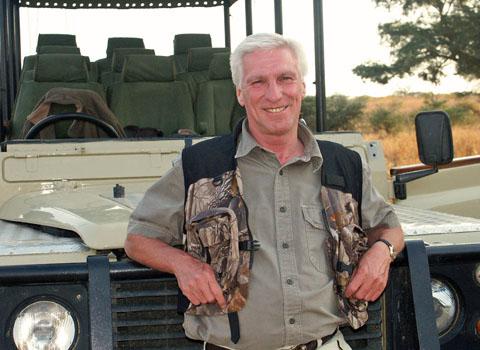 Tony Proud on safari