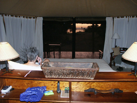 Selous tented camp