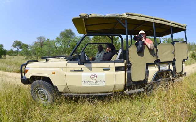 game viewing safari vehicle