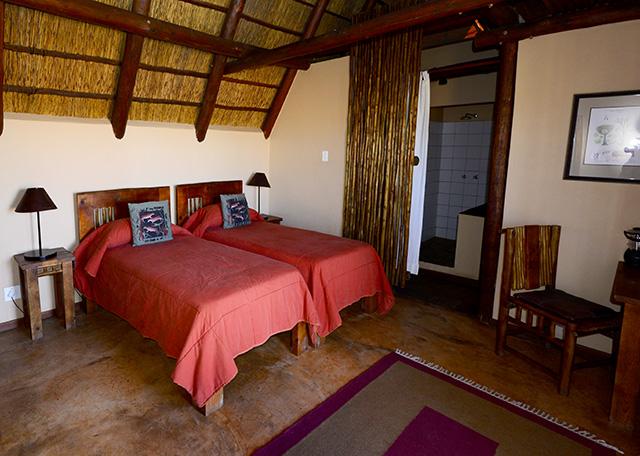 Xaus lodge bedroom