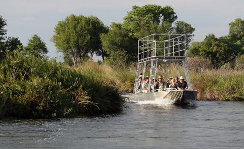 Botswana boat safari