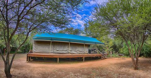 Tent at Bakgatla