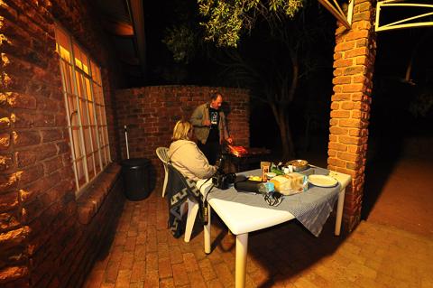 BBQ at Bakgatla