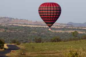 Hot-air balloon, Pilanesberg game reserve
