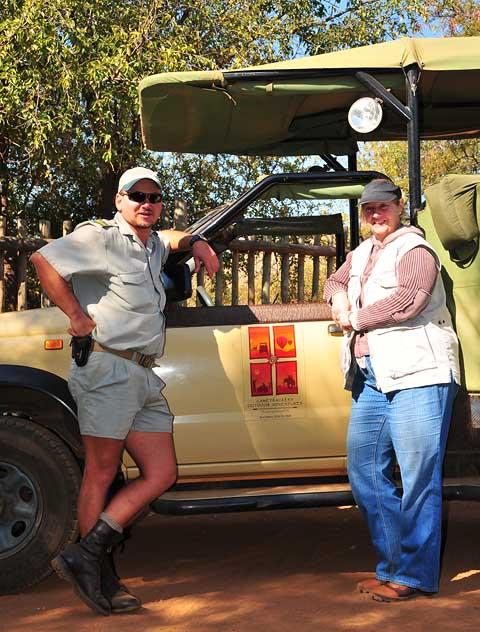 Guided safari in pilanesberg