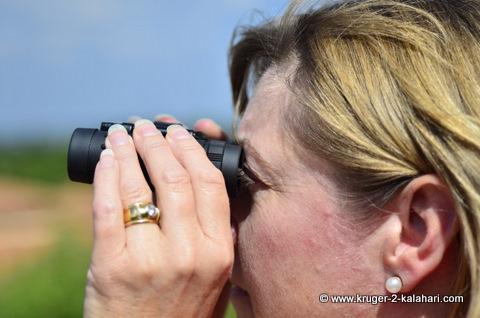 8x22 roof-prism binoculars