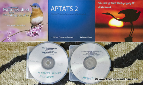wildlife photography books on CD
