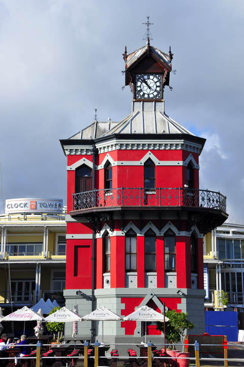 Clock Tower at the Cape Town Waterfront
