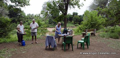 picnic at pafuri