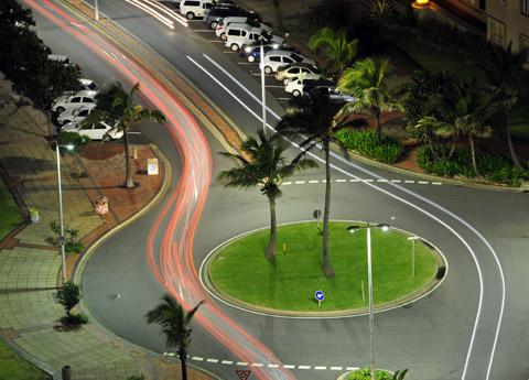 Durban traffic circle