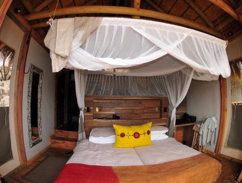 Dolomite camp chalet bedroom