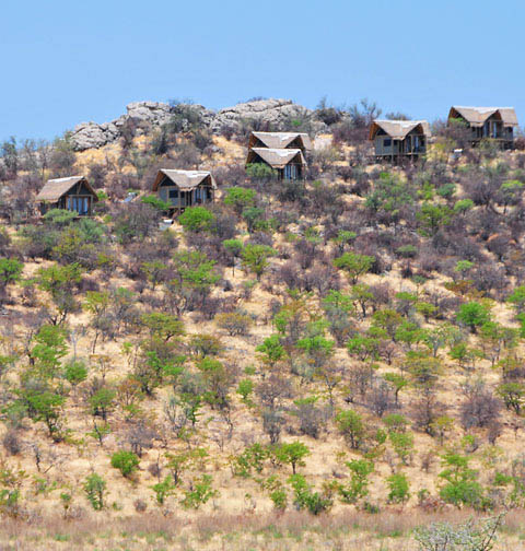Dolomite Camp in Etosha