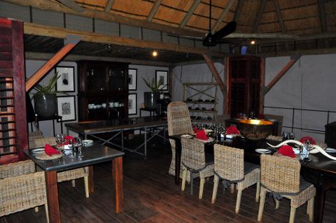 Dolomite camp restaurant