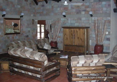 Fish eagle guest house in Letaba Camp