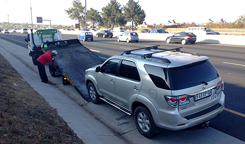 Toyota Fortuner breaks down after being checked
