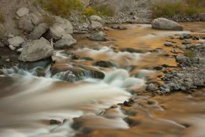 Yellowstone waterfall landscape