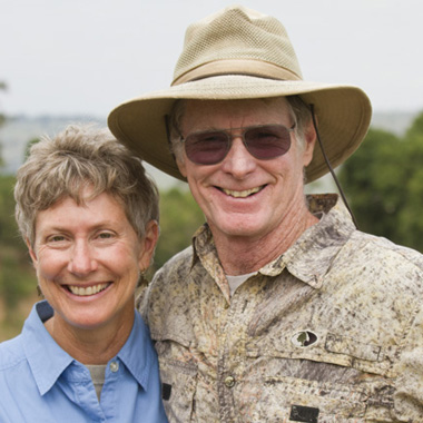 Joe and Mary McDonald wildlife photographers