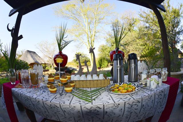 High tea at Kambaku