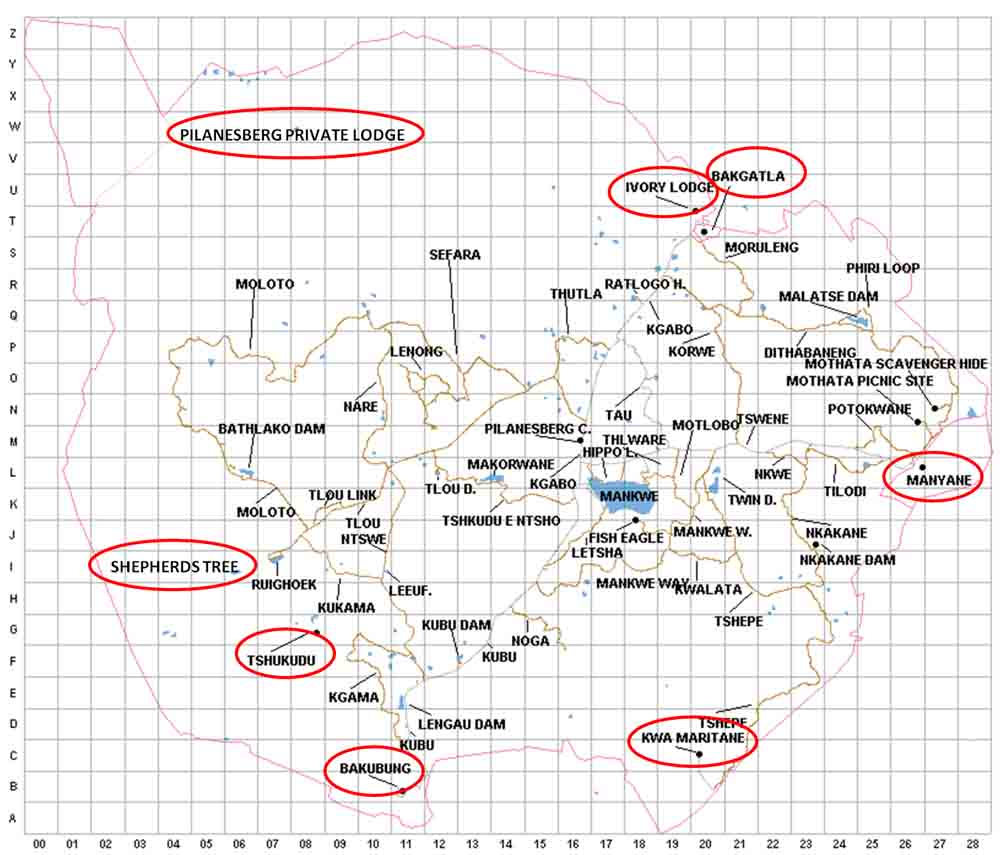 map kruger national park with Pilanesberg Map on Mykrugerlodge moreover Pilanesberg Map as well Self Driven Safari Kurger National Park together with Londolozi Founders C likewise Maps.