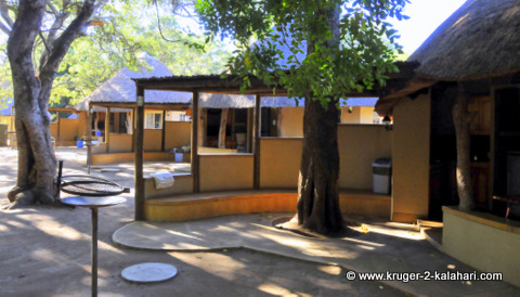 Letaba camp new bungalow