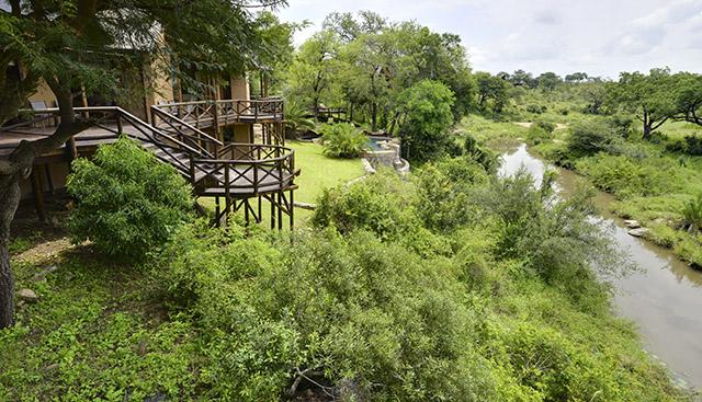 Lukimbi - view from communal area