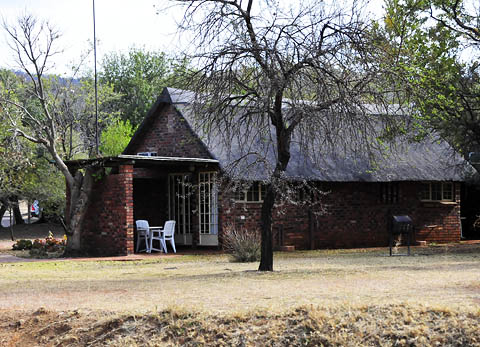 View of Manyane chalet