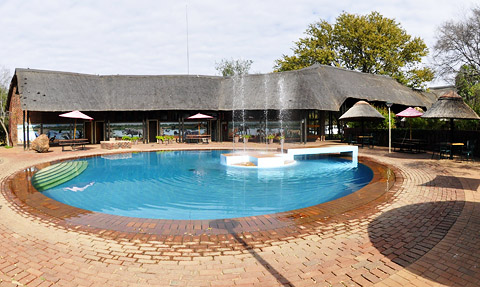 Swimming pool in Manyane Complex