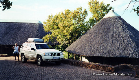 Jeep Grand Cherokee at Olifants Camp