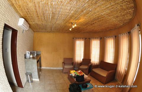 Okaukuejo bungalow at Etosha