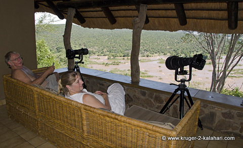 Olifant bungalow with river view