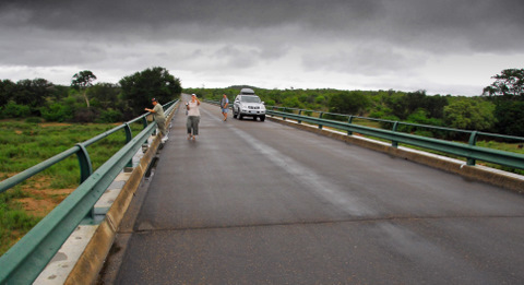 Olifants River bridge in the Kruger Park