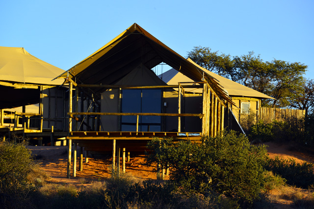 Polentswa Lodge tent