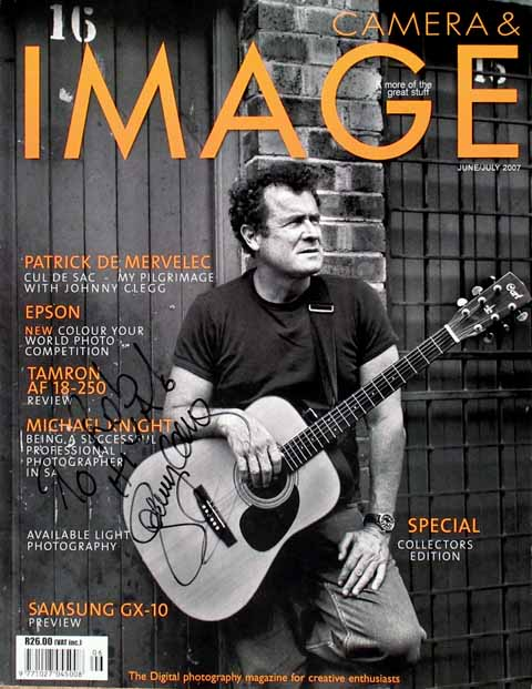 Johnny Clegg Photo shoot
