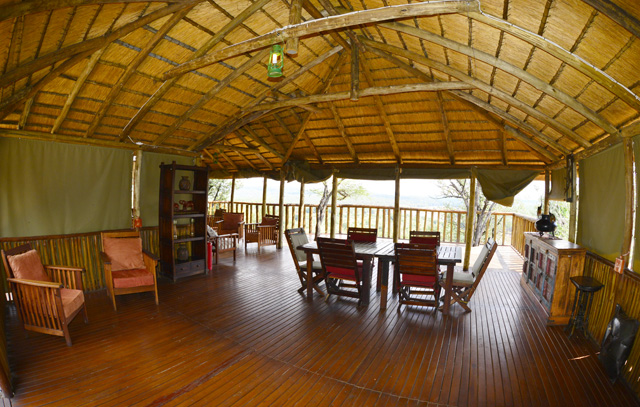 Rustic Safari Lodge