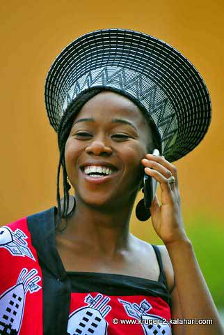 Traditional Swazi dress