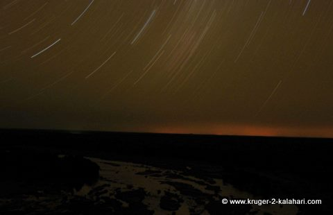 Star-trail from Olifants camp Kruger Park