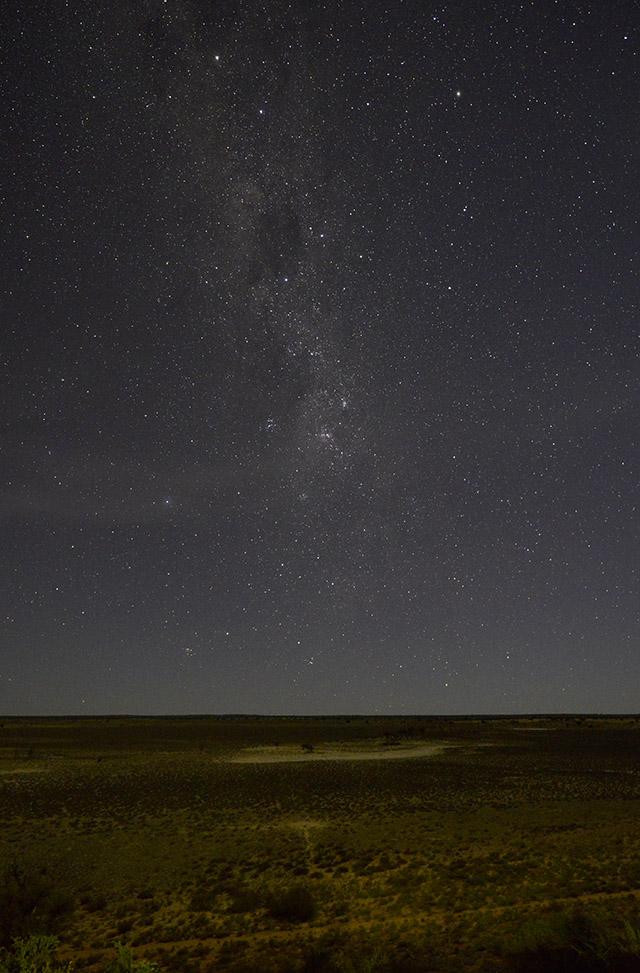 Stars over Polentswa Pan