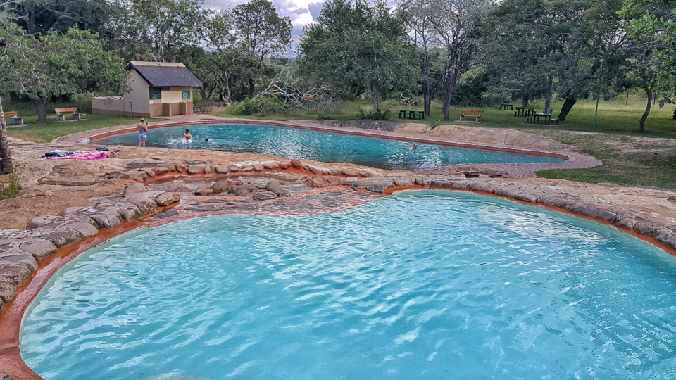 Tented adventures pretoriuskop luxury camping in the Campsites in poole with swimming pool