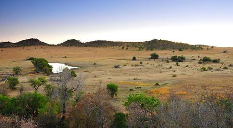 landscapes in pilanesberg