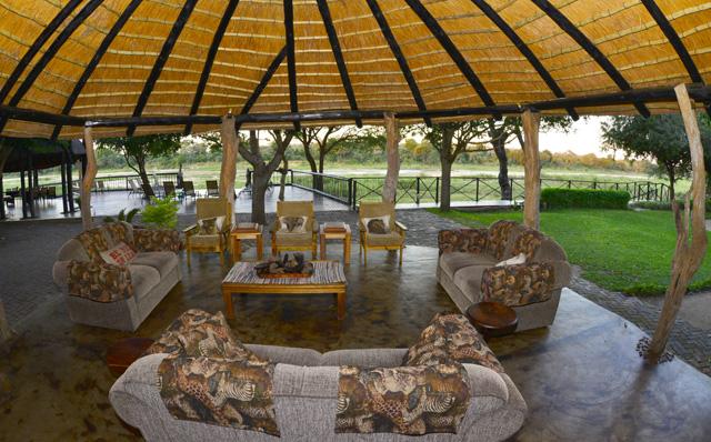 View from veranda at Umkumbe