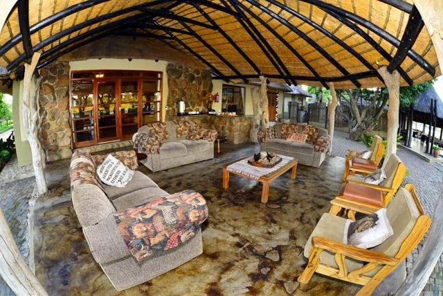 thatch veranda