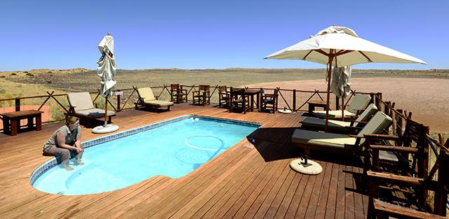 !Xaus lodge swimming pool