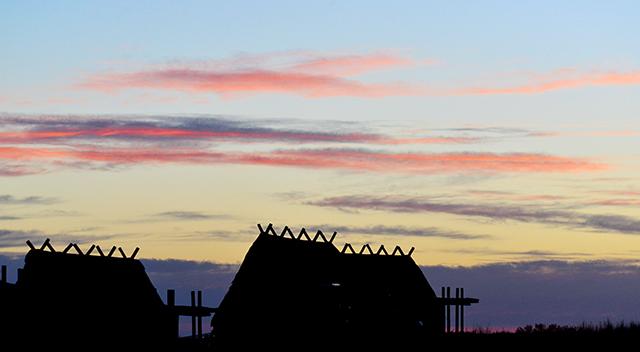 Sunrise from !Xaus lodge