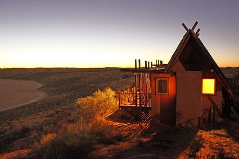 !Xaus Kalahari cabin
