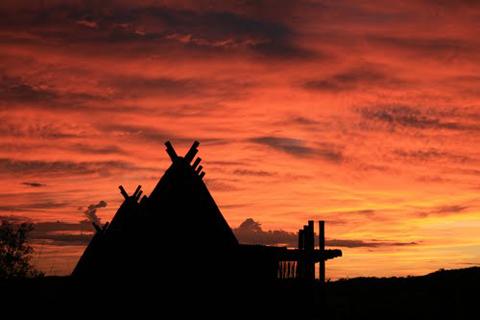 !Xaus Kgalagadi sunset