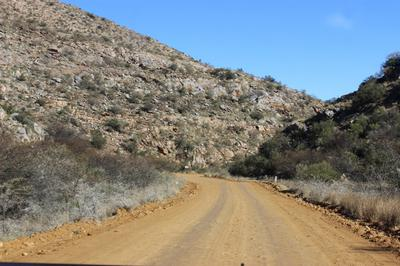 The first pass of Langeberg Mountain range.