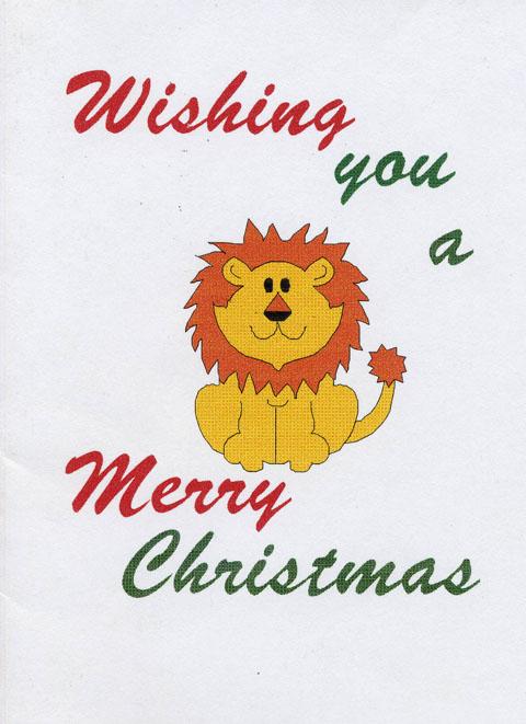 Sirheni camp Christmas card