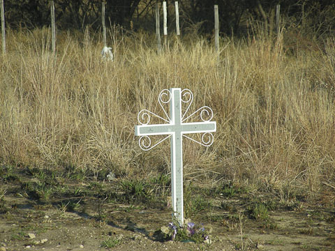 cross in namibia