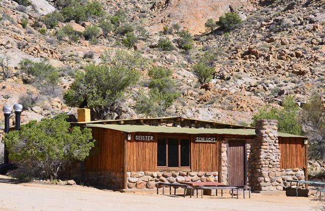 The hiking cabin