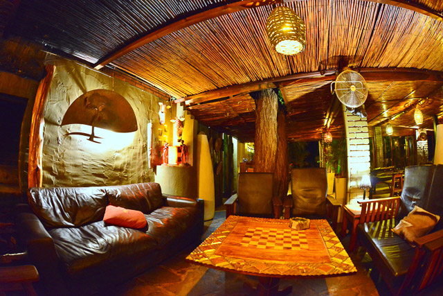 Kalahari Anib Lodge lounge